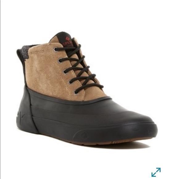 sperry deck boots